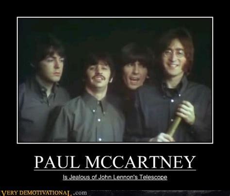 paul mccartney  demotivational demotivational