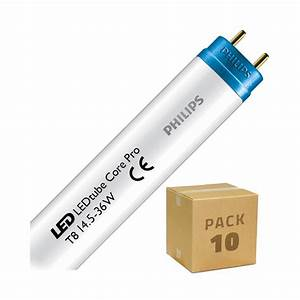 Pack Tube Led Philips Corepro T8 1200mm Connexion Lat U00e9rale
