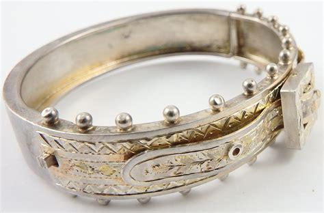 Motor vehicle crime prevention authority (mvcpa). Antique Victorian solid silver engraved buckle bangle. HallMark Birmingham 1885 | Ian Burton ...