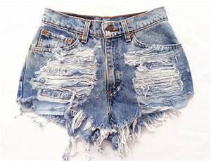 Shorts ripped shorts pants high waisted pants cut off shorts high waisted denim shorts ...