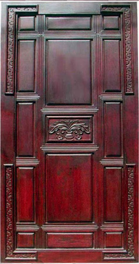 latest kerala model wood single doors designs gallery  wood design ideas