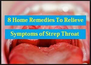 treatment strep throat symptoms