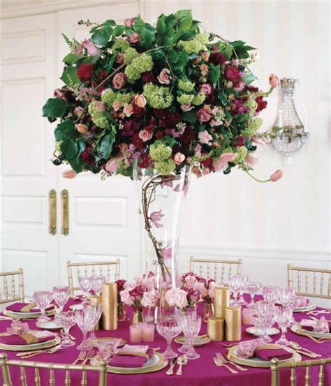 centre de table pour mariage chetre 10 centres de table qui prennent vraiment de la hauteur
