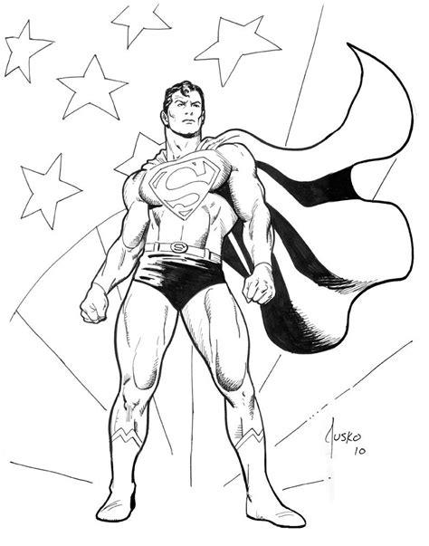 superman coloring pages patriotic superman megacon