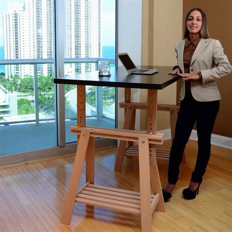 office furniture linnmon tabletop ikea standing desk with