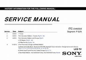 Sony Klv-32ex330  Klv-40ex430 Service Manual