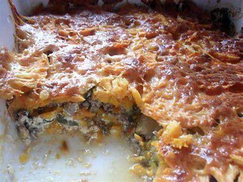 recette de gratin de patates douces courgettes et viande