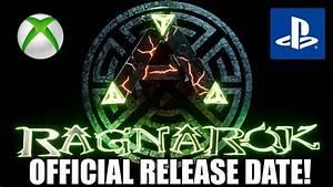 ARK RAGNAROK XBOXPS4 RELEASE DATE HUGE NEW UPDATE