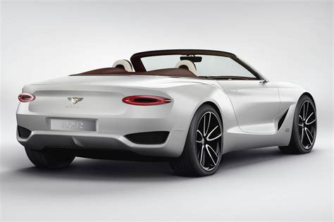 Bentley's First Ever Electric Concept Car  Luxury Cars