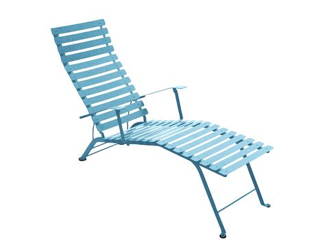 chaise bistro fermob bistro colourful designer folding metal chaise longue