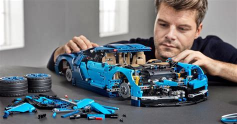 Well, it now has a new sibling, and this one has upped the ante once again. This Insanely Complex, 3,599-Piece Lego Bugatti Chiron Is the Ultimate Man Toy - Maxim
