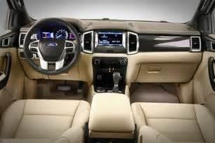 2018 Ford Ranger Interior