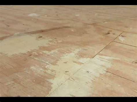 prep  wood subfloor youtube