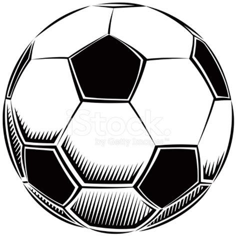 soccer ball vector illustration stock  freeimagescom