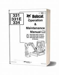 Bobcat 331 334 Shop Manual