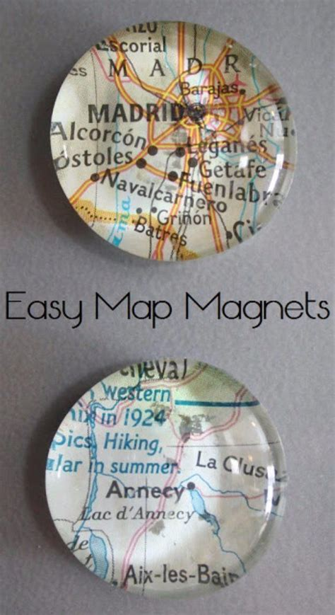 crafts    sell easy map magnets cool