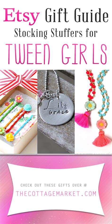 etsy gift guide stocking stuffers  tween girls