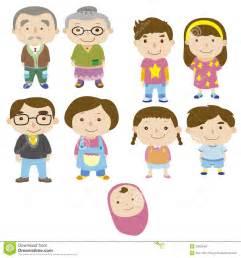 Cartoon Family Drawings