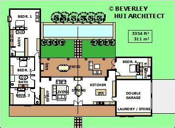 single storey bedroom house plan south african home designs bedr shaped house plans