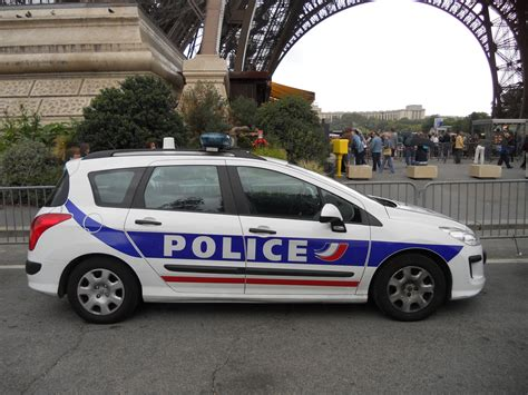 July, 2011, An National Police Car In