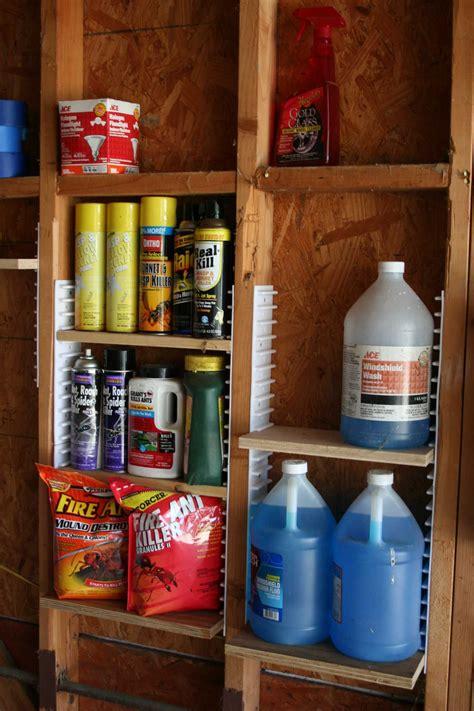 Garage Shelving Between Studs by Ezstud Racks For Uses Between Wall Studs Home