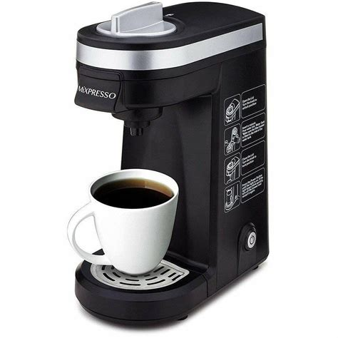A single cup may be a single cup, but it is a to each his own scenario when it comes to elements like brew strength and the flavor that comes with each level. Mixpresso Mixpresso Original Design Single Cup Coffee ...