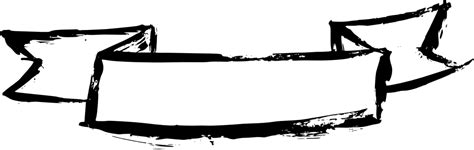 grunge ribbon banner png transparent onlygfxcom