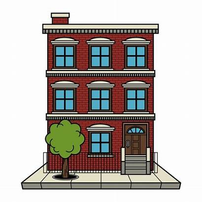 Apartment Building Vector Illustration Brick Depositphotos Briangoff