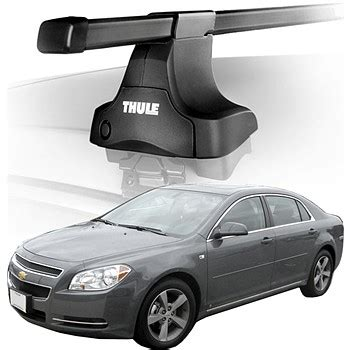 traverse roof rack 2011 chevy malibu roof rack complete system thule