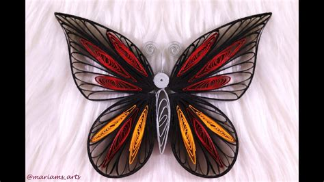 quilling butterfly tutorial paper butterfly quilling