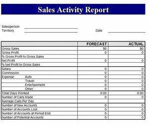 sales revenue report template free formats excel word With sales reports templates free download
