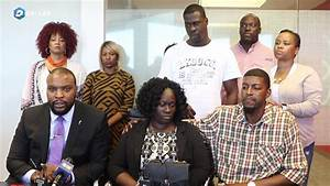 Press conference from the family of Jordan Edwards, the ...