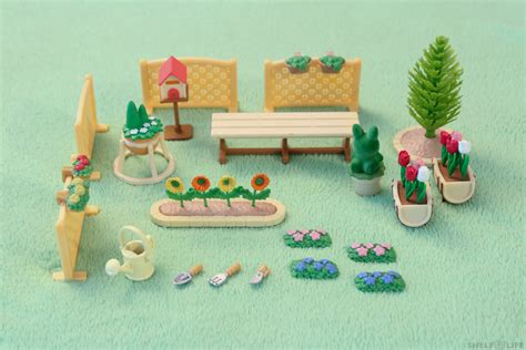 [review] Sylvanian Families  Relaxing Family Garden