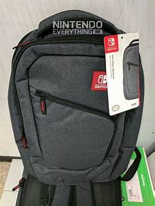 Photos Of The Switch Elite Player Backpack Nintendo