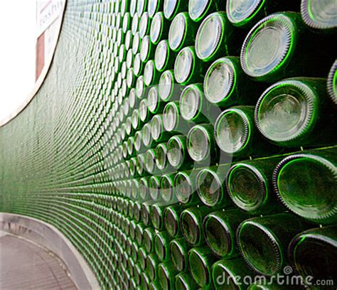green glass bottle wall royalty  stock photo image