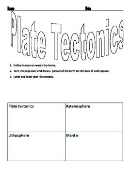 You will be told if your answer is correct or not and will be given some. 33 Plate Tectonic Worksheet Answers - Worksheet Project List