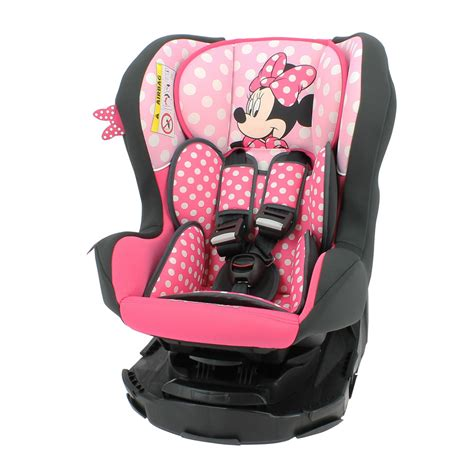 siege minnie siège auto revo disney luxe minnie mouse groupe 0 1 de