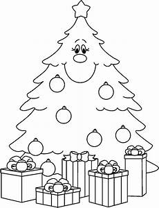 Christmas tree clip art black and white #ChristmasTree - # ...