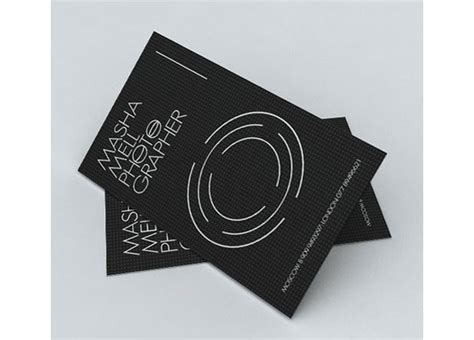 creative photography business cards  examples