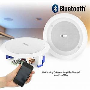Flush Ceiling Speakers 60w Wireless Bluetooth Audio