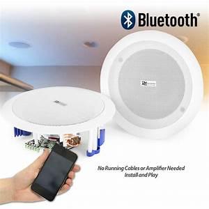 Flush Ceiling Speakers 60w Wireless Bluetooth Audio