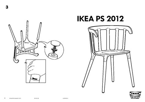 table et chaise ikea trendy ikea ps chaise accoudoirs with table chaises ikea
