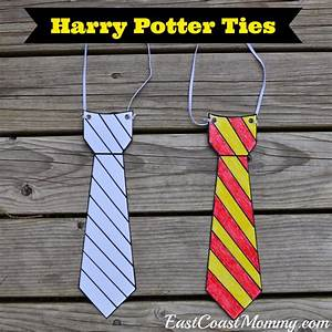 east coast mommy harry potter glasses and ties with free With harry potter tie template