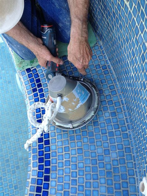 changing pool light wine country pools and supplies changing a pool spa light
