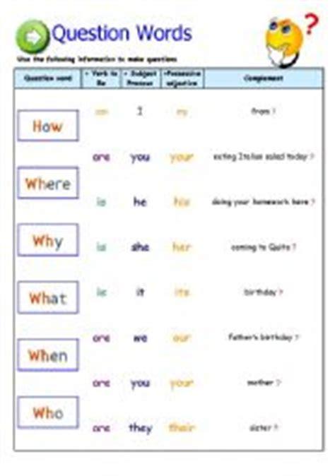 question words esl worksheet by abraham 75