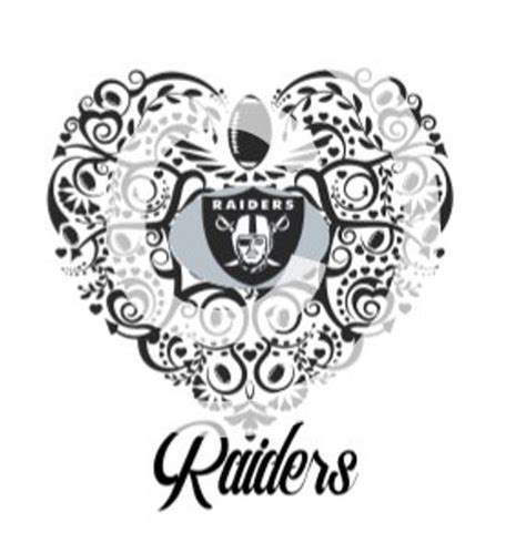 oakland raiders ornate svg file