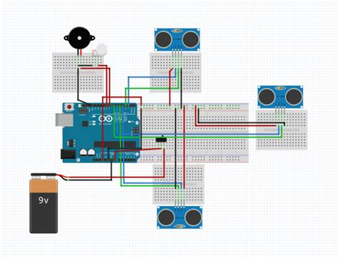 smart stick using arduino uno full project with source code