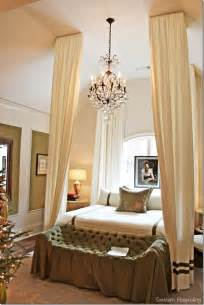 Master Bedroom with Tufted Bed