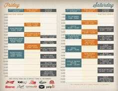 design conference schedule template  engineering