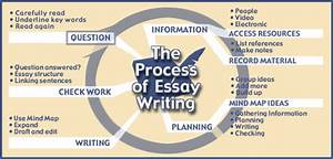The Process Of Essay Writing Diagram